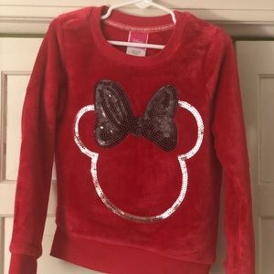 Other - Minnie Mouse Sequined pullover